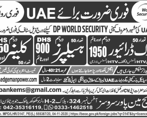 UAE jobs